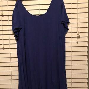 Torrid high/low dress